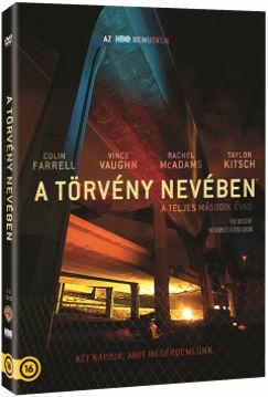 A törvény nevében: 2. évad (3 DVD) - magyar szinkron és magyar felirat nélkül termékhez kapcsolódó kép