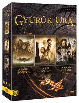 A Gyűrűk Ura trilógia (moziváltozat, új kiadás) (3 DVD) termékhez kapcsolódó kép