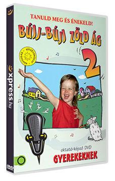 Bújj-bújj zöld ág 2. (Oktató-képző DVD gyerekeknek) termékhez kapcsolódó kép
