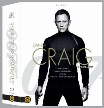 James Bond - Daniel Craig Bond-gyűjtemény (négyfilmes, új változat, 4 BD) termékhez kapcsolódó kép