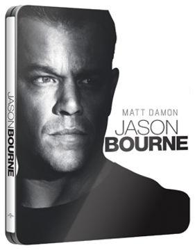 Jason Bourne - limitált, fémdobozos változat (steelbook) (BD+bónusz DVD) termékhez kapcsolódó kép
