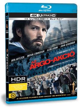 Az Argo-akció (4K Ultra HD (UHD) + BD) termékhez kapcsolódó kép