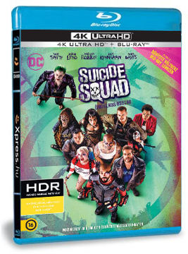 Suicide Squad - Öngyilkos osztag - (4K Ultra HD (UHD) + bővített változat BD) termékhez kapcsolódó kép
