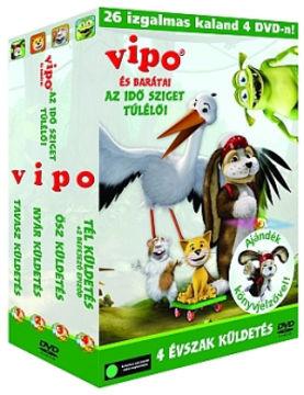 VIPO és barátai gyűjtemény: A négy évszak küldetés (4 DVD) termékhez kapcsolódó kép