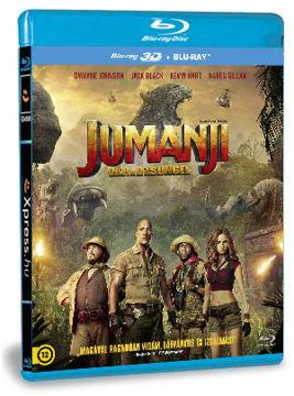 Jumanji - Vár a dzsungel (BD3D+BD) termékhez kapcsolódó kép