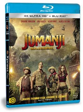 Jumanji - Vár a dzsungel  (4K Ultra HD (UHD) + BD) termékhez kapcsolódó kép