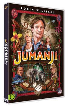 Jumanji (1995) - szinkronizált, extra változat termékhez kapcsolódó kép