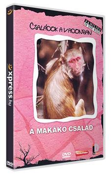 Családok a vadonban - A makákó család termékhez kapcsolódó kép