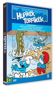 Hupikék törpikék 8. (új kiadás) termékhez kapcsolódó kép