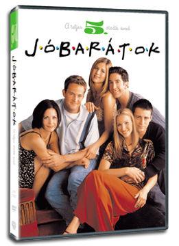 Jóbarátok - 5. évad (3 DVD) termékhez kapcsolódó kép