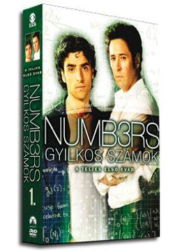 Gyilkos számok - 1. évad (4 DVD) termékhez kapcsolódó kép