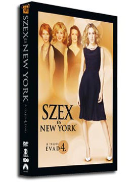 Szex és New York - 4. évad (3 DVD) termékhez kapcsolódó kép