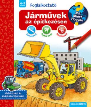 Járművek az építkezésen termékhez kapcsolódó kép