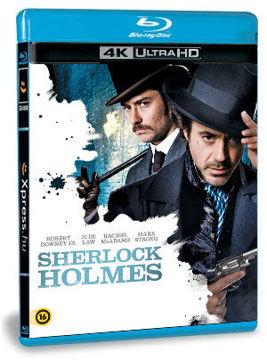 Sherlock Holmes (UHD+BD) termékhez kapcsolódó kép