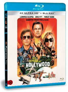 Volt egyszer egy... Hollywood (4K UHD+BD) termékhez kapcsolódó kép