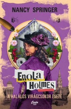 Enola Holmes - A halálos virágcsokor esete termékhez kapcsolódó kép