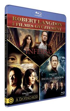 Robert Langdon 3 filmes gyűjtemény (új kiadás) termékhez kapcsolódó kép