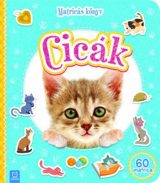 Matricás könyv - Cicák termékhez kapcsolódó kép