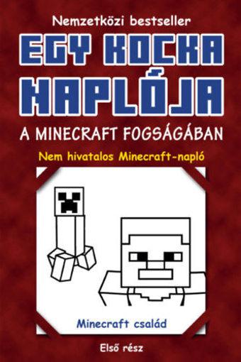 Egy kocka naplója 1. - A Minecraft fogságában termékhez kapcsolódó kép