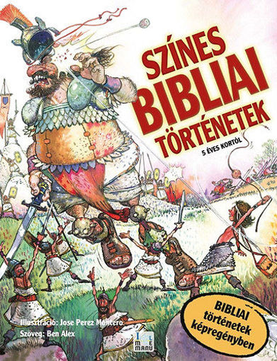 Színes Bibliai Történetek - Bibliai történetek képregényekben - Bibliai történetek képregényben termékhez kapcsolódó kép