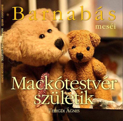 Barnabás meséi - Mackótestvér születik termékhez kapcsolódó kép