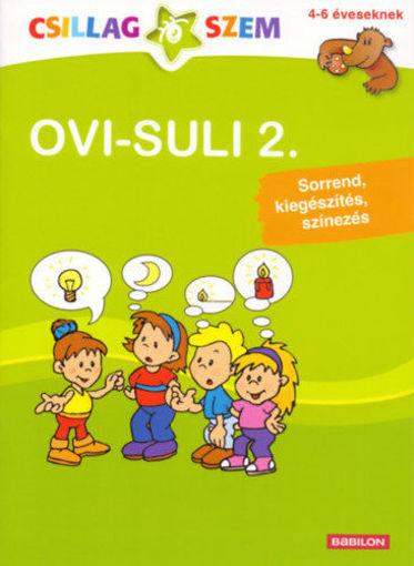 OVI-SULI 2. - Sorrend, kiegészítés, színezés 4-6 éveseknek termékhez kapcsolódó kép