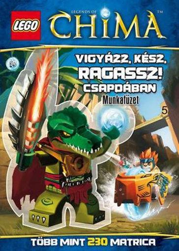 LEGO 5. - Vigyázz, kész, ragassz! - Csapdában - Legends of Chima - Munkafüzet termékhez kapcsolódó kép