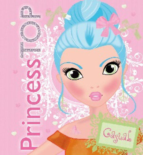 Princess TOP - Casual (pink) termékhez kapcsolódó kép