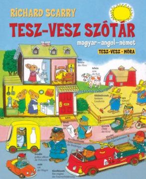 Tesz-vesz szótár termékhez kapcsolódó kép