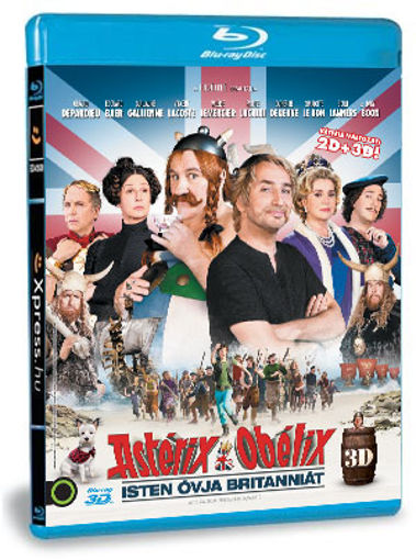 Asterix & Obelix: Isten óvja Britanniát (BD3D) termékhez kapcsolódó kép