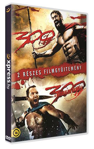 300 / 300: A birodalom hajnala (2 DVD) (Twinpack) termékhez kapcsolódó kép