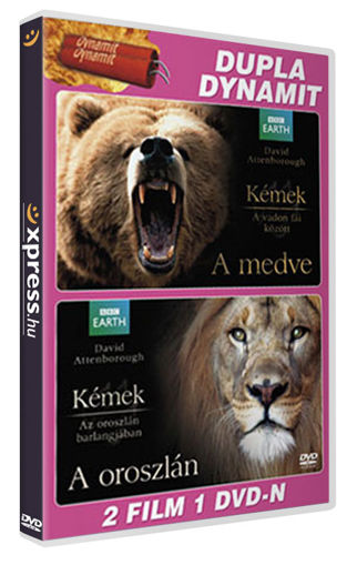 David Attenborough - Kémek a vadon fái között: A medve / Kémek az oroszlán barlangjában: Az oroszlán termékhez kapcsolódó kép