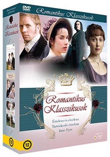 Romantikus klasszikusok gyűjtemény (3 DVD) termékhez kapcsolódó kép