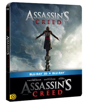 Assassins Creed  (BD3D+BD)- limitált, fémdobozos változat (steelbook) termékhez kapcsolódó kép