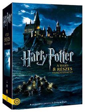 Harry Potter: A teljes gyűjtemény (díszdobozban) (8 DVD) termékhez kapcsolódó kép
