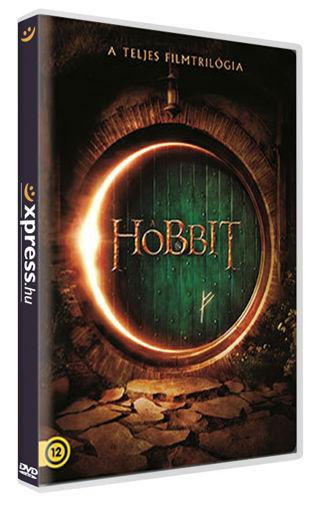 A hobbit trilógia (moziváltozatok gyűjteménye, 6 DVD) termékhez kapcsolódó kép