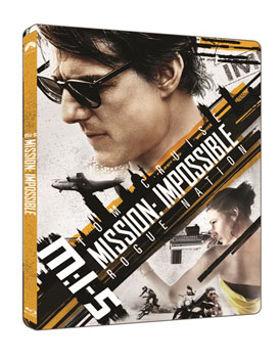 M:I-5 Mission: Impossible 5. - Titkos nemzet (4K Ultra HD (UHD) + BD) - limitált, fémdobozos változat (steelbook) termékhez kapcsolódó kép
