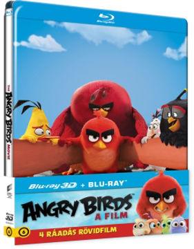 Angry Birds: A film - limitált, fémdobozos változat (steelbook) (BD3D+BD) termékhez kapcsolódó kép