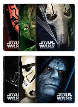 Star Wars - A teljes sorozat (I-VI. rész) (6 BD) - limitált, fémdobozos változat (steelbook) termékhez kapcsolódó kép