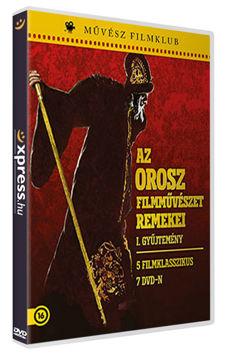 Az orosz filmművészet remekei I. (7 DVD) (egyedi sorszámmal ellátott változat) termékhez kapcsolódó kép
