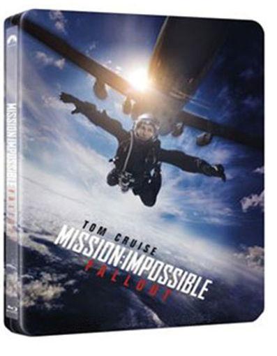 M:I-6 Mission: Impossible - Utóhatás  (4K Ultra HD (UHD) + BD + BONUS BD) - limitált, fémdobozos változat (ALT steelbook) bónusz termékhez kapcsolódó kép