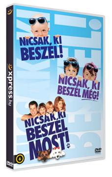 Nicsak, ki beszél-trilógia (szinkronizált változat) (3 DVD) termékhez kapcsolódó kép