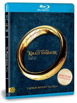 A Gyűrűk Ura -  A király visszatér bővített (szinkronizált változat) (2 BD) termékhez kapcsolódó kép
