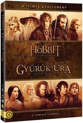 Középfölde DVD-gyűjtemény (6 DVD) termékhez kapcsolódó kép