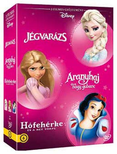 Disney hősnők díszdoboz 3. (3 DVD) termékhez kapcsolódó kép