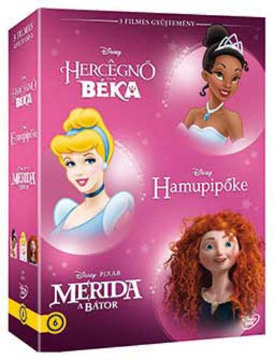 Disney hősnők díszdoboz 4. (3 DVD) termékhez kapcsolódó kép