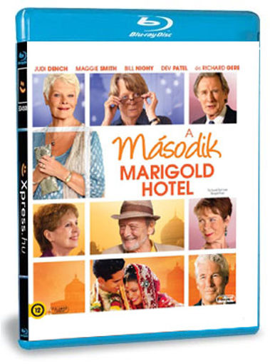 Keleti nyugalom - A második Marigold Hotel termékhez kapcsolódó kép