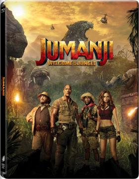 Jumanji - Vár a dzsungel (BD3D+BD) - limitált, fémdobozos változat (steelbook) termékhez kapcsolódó kép
