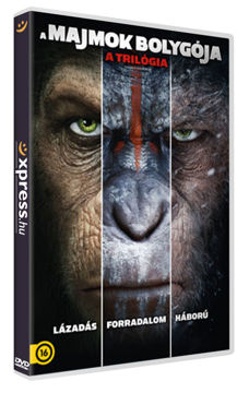 A majmok bolygója - a trilógia (3 DVD) termékhez kapcsolódó kép