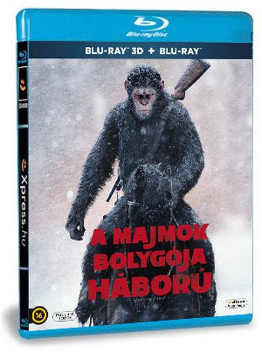 A majmok bolygója - Háború (BD3D+BD) termékhez kapcsolódó kép